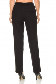 Set |  Sporty trousers with side stripe Lina | black  | Picture 6