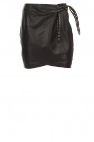 Set |  Leather skirt Neva | black  | Picture 1