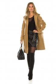 Set |  Leather skirt Neva | black  | Picture 3