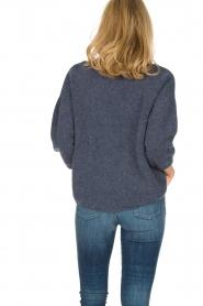 American Vintage | Oversized trui Hanapark | blauw  | Afbeelding 5