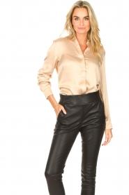 Dante 6 |  Silk stretch blouse Zayn | natural  | Picture 2
