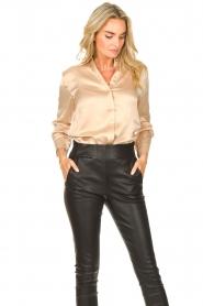 Dante 6 |  Silk stretch blouse Zayn | natural  | Picture 4