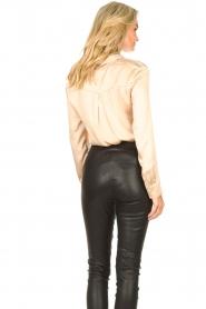 Dante 6 |  Silk stretch blouse Zayn | natural  | Picture 6