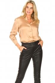 Dante 6 |  Silk stretch blouse Zayn | fudge  | Picture 2