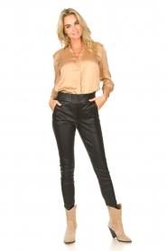 Dante 6 |  Silk stretch blouse Zayn | fudge  | Picture 3