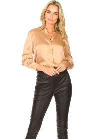 Dante 6 |  Silk stretch blouse Zayn | fudge  | Picture 4