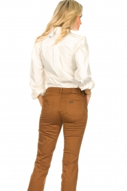 Dante 6 |  Blouse with puff sleeves Percey | natural  | Picture 6