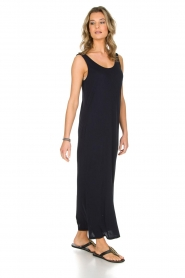 American Vintage   Maxi-jurk Jockoville   blauw    Afbeelding 4