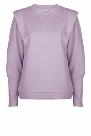 Dante 6 |  Sweater with shoulder details Noble | lilac  | Picture 1