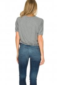 American Vintage | T-shirt Mashadog | grijs  | Afbeelding 4