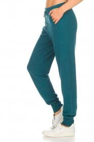 Not Shy | Kasjmieren joggingbroek Pauline | blauw  | Afbeelding 4