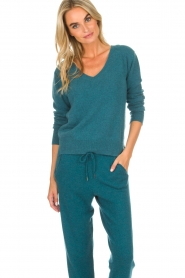 Not Shy |  Cashmere sweater Gabriella | blue  | Picture 2