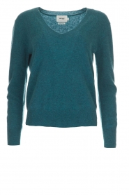 Not Shy |  Cashmere sweater Gabriella | blue  | Picture 1