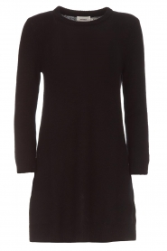 Not Shy |  Long cashmere sweater Elvire | black  | Picture 1