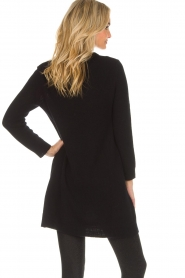 Not Shy |  Long cashmere sweater Elvire | black  | Picture 5