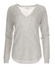 Not Shy |  Cashmere sweater Edith | light grey  | Picture 1