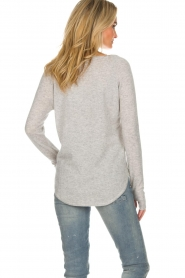 Not Shy |  Cashmere sweater Edith | light grey  | Picture 5