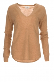 Not Shy |  Cashmere sweater Edith | camel  | Picture 1