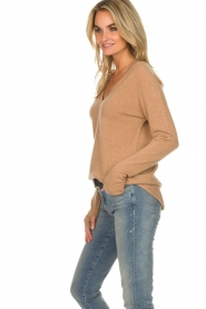 Not Shy |  Cashmere sweater Edith | camel  | Picture 4