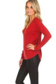 Not Shy |  Cashmere sweater Edith | red  | Picture 4