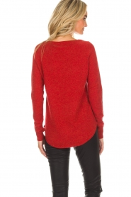 Not Shy |  Cashmere sweater Edith | red  | Picture 5