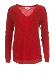 Not Shy |  Cashmere sweater Edith | red  | Picture 1
