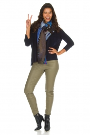 Not Shy |  Cashmere sweater Rosanna | navy  | Picture 3