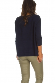 Not Shy |  Cashmere sweater Rosanna | navy  | Picture 5
