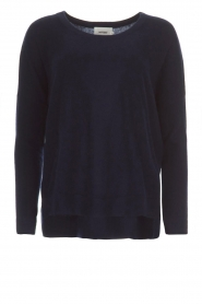 Not Shy |  Cashmere sweater Rosanna | navy  | Picture 1