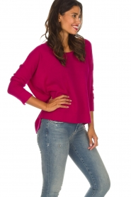 Not Shy |  Cashmere sweater Rosanne | pink  | Picture 4