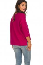 Not Shy |  Cashmere sweater Rosanne | pink  | Picture 5