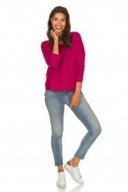 Not Shy |  Cashmere sweater Rosanne | pink  | Picture 3