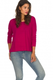 Not Shy |  Cashmere sweater Rosanne | pink  | Picture 2