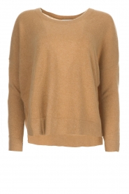 Not Shy |  Cashmere sweater Rosanna | camel