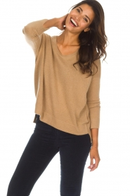 Not Shy |  Cashmere sweater Rosanna | camel  | Picture 2