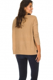 Not Shy |  Cashmere sweater Rosanna | camel  | Picture 5