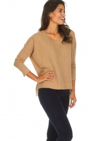 Not Shy |  Cashmere sweater Rosanna | camel  | Picture 4