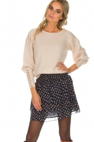 Not Shy |  Sweaterwith puff sleeves Seraphine | beige  | Picture 2