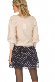 Not Shy |  Sweaterwith puff sleeves Seraphine | beige  | Picture 5