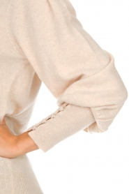 Not Shy |  Sweaterwith puff sleeves Seraphine | beige  | Picture 6