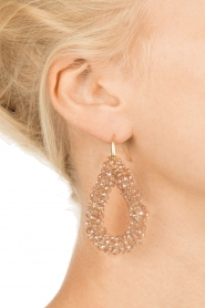 Miccy's |  Earrings Open Crystals| nude  | Picture 3