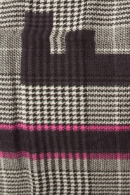 Moment by Moment |  Checkered scarf Elia | pink  | Picture 4