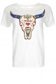 Leon & Harper | T-shirt Toro | wit  | Afbeelding 1