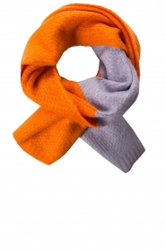 Moment by Moment |  Scarf Eliane | orange/lilac  | Picture 1