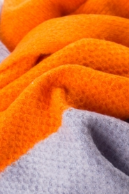 Moment by Moment |  Scarf Eliane | orange/lilac  | Picture 3