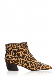 What For |  Ankle boots with panther print Ferdinand | animal print  | Picture 1