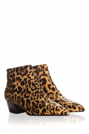 What For |  Ankle boots with panther print Ferdinand | animal print  | Picture 5