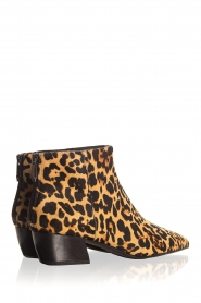 What For |  Ankle boots with panther print Ferdinand | animal print  | Picture 6
