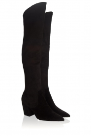 What For | Suede laarzen Fefe | zwart  | Afbeelding 4