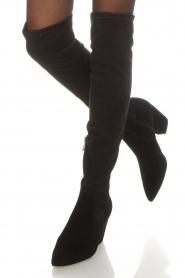 What For | Suede laarzen Fefe | zwart  | Afbeelding 3